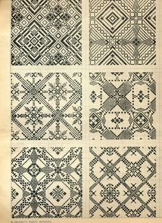 SO much more here than free cross-stitchable (and knittable if you grok Fair Aisle) patterns.  Come for the gridded designs; stay for the historic textiles and jewellery.