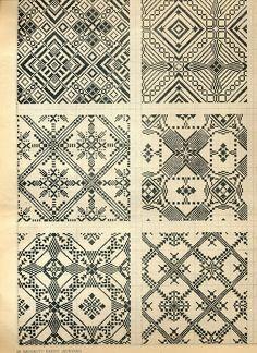 folk art free charts cross stitch