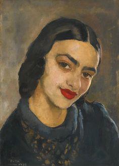 Amrita Sher-Gil · Self Portrait · 1933 · Private Collection
