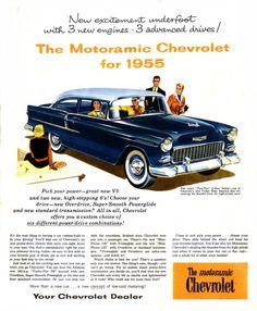 1955 Chevrolet Ad