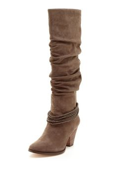 high leg boots!