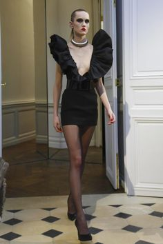 Widely believed to be Hedi's final collection for the house of Saint Laurent (though in what capacity entirely is still a little unclear), the designer made sure it made impact: Dyn...