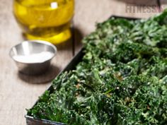 If you haven't already checked out my first kale chips recipe, check it out now! As I mentioned in that article, there are endless ways to season and prepare kale chips. I'm going to start by giving you the basic recipe along with some tips to cook. Paleo Recipes, Snack Recipes, Free Recipes, Healthy Cooking, Healthy Eating, Healthy Food, Easy To Make Snacks, Kale Chips, Healthy Treats