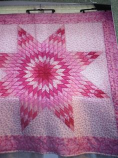 relay for life first fundraiser quilt mom bought for $200 and then she donated it