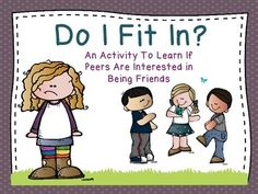 An important first step to making and keeping friends is identifying if one's peer wants to be friends with them. This activity provides a fun way to learn what the behavioral cues are that peers display when they are interested in being friends and when they are not interested in being friends.