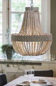 Casa Padrino Hängeleuchte Deckenleuchte Alt Weiß Durchmesser 52 x H 61,5 cm - Möbel Lüster Leuchter Deckenleuchte Deckenlampe