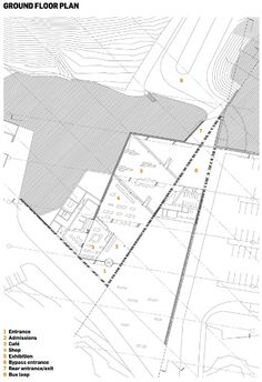 Giants Causeway Visitor centre plans architecture - Buscar con Google