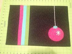 Alternative Christmas placemat
