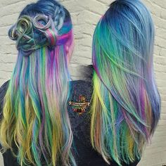 Rainbow after the storm.. In game of thrones. No you\'re obsessed ☪️🌈🦄#rainbowlife #btconeshot_rainbow16 #btconeshot_creativecolor16 #arcticfoxhaircolor #manicpanic #pravana #brazilianbondbuilder #b3 #hairbykaseyoh #behindthechair #modernsalon #beautylaunchpad #hotonbeauty #americansalon #btconeshot