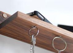 Magnetic Key Ring Holder U0026 Shelf