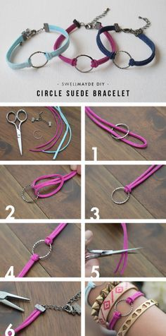 Bracelet - Tutorial ❥ 4U // hf                                                                                                                                                      More