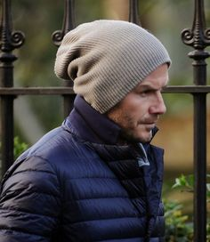 """Aprendendo a usar touca """"BEANIE"""" com David Beckham!   Blog Acordei Fashionista!"""