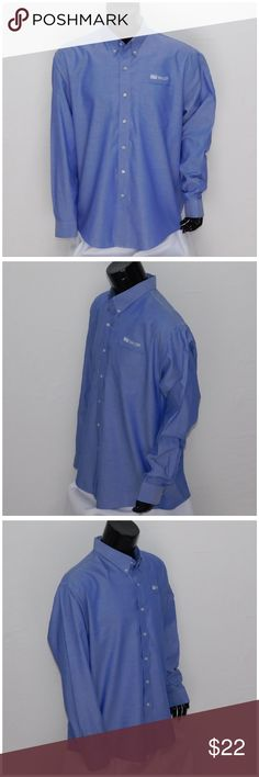 """Offers of 40% Less on BUNDLES Always Accepted! *MEN* CUTTER & BUCK, TAYLOR, size XXL See Measurements, CB logo embroidered on sleeve cuff, Taylor logo embroidered above chest pocket, medium weight, machine washable, 60% cotton, 40% polyester, approximate measurements: 31"""" length, 26"""" chest laying flat, 21"""" shoulder width, 26"""" sleeve. ADD to a BUNDLE! Offers of 40% Less on BUNDLES Always Accepted! Cutter & Buck Shirts Dress Shirts"""
