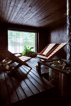 Sauna by SaimiHoyer