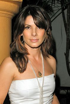 Sandra Bullock, Arlington County, VA (1964-    ). Actress.....a terrific actress and a compassionate lady.