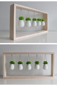 Amazing DIY Hanging Planters to Give Your Indoor Garden a Lift Diy Hanging Planter, Succulent Planter Diy, Hanging Succulents, Diy Planters, Succulents Garden, Small Succulents, Window Hanging, Small Plants, Suculentas Interior