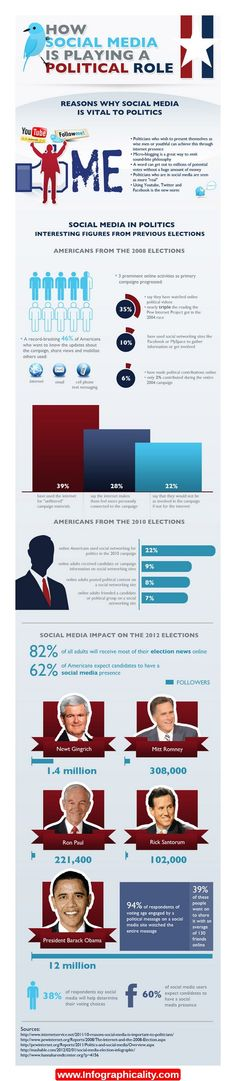The Fate of the Nation Election 2012 Pinterest Infographic and - political brochure