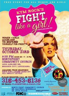Fight Like A Girl is Coming to Bossier City