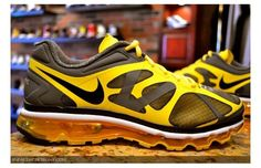 Nike Air Max+ 2012 Chrome Yellow