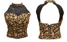 12 Modern Saree Blouse Designs Women should have in Wardrobe - LooksGud. Saree Jacket Designs Latest, Latest Saree Blouse, Latest Sarees, Blouse Designs High Neck, Sari Blouse Designs, Saree Accessories, Blouse Designs Catalogue, Saree Jackets, Modern Saree