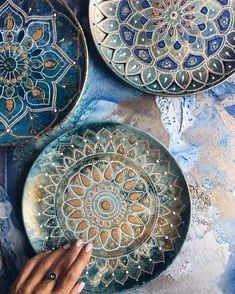 Plate painting inspiration photo.