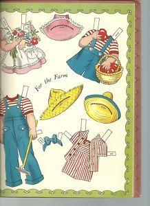 Judy & Jim PD book, 1947 by Hilda Miloche_p 6