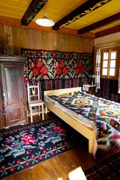 I am becoming bewitched by the stunning landscapes and charming villages of Romania, Croatia, Poland and surrounding countries. The bold and beautiful Romanian textiles above all.