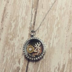 Check out this item in my Etsy shop https://www.etsy.com/listing/218154261/living-memory-locket-with-9mm-bullet  Bullet jewlery. Country girl. 4h. NRA. Shotgunshell. Bullet. Country jewelry. Camo. Browning. Buck mark.