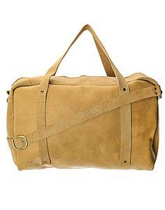ILUNDI   Leather Weekender Bag in Biscuit - Women - Style36  #style36 #xmasshopping #wishlist