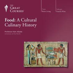 Food: A Cultural Culinary History audiobook cover art