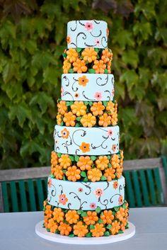 Wedding Cake Bakery, Wedding Dress Cake, Wedding Cakes, Bird Cakes, Cupcake Cakes, Cupcakes, Beautiful Cakes, Amazing Cakes, French Cake