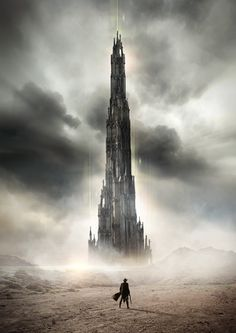 The Dark Tower - Book Cover Art by Dean Samed, who did To Dream: Anatomy of a Humachine