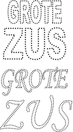 Grote zus Dot Letters, Dots, Embroidery, Creative, Diana, Crystals, Stitches, The Dot, Crystal