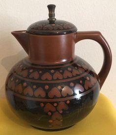 Circa 1911  - Antique German CHRISTIAN NEUREUTHER Waechtersbach Earthenware Pitcher - Catawiki