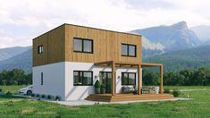 Kärntenhaus 4.0 BIRKE. Variation 2. Mehr Infos unter office@kaerntenhaus.com. Office, Modern, Shed, Outdoor Structures, Mansions, House Styles, Home Decor, Birch, House