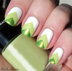 st patrick's day nail art | ... like Gold With These St. Patrick's Day Nail Art Designs | Teennick.com
