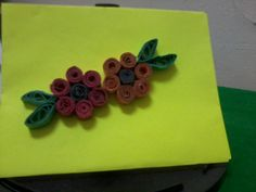 Colored Quilled Envelope