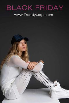Fun and stylish polka dot Tights by Zohara. These patterned tights feature a black polka dot Print on a pair of classic one-size cream-white opaque tights. Polka Dot Tights, White Tights, Patterned Tights, Polka Dots, Printed Leggings, Women's Leggings, Print Tights, Fashion Tights, Outfit Combinations