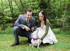 Really cute Wedding: A DIY Backyard Brunch  Love the purple jar/bottle centerpieces
