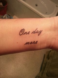 """""""Les Miserables tatoo"""" - My favourite song from the musical!"""