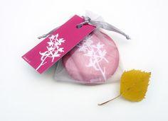 Pocket Mirror  Hot Pink Orchid Botanical Papercut by KitzieG, $7.00