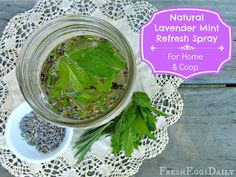 Lavender Vanilla Mint Coop Refresh Spray for your Coop and Home