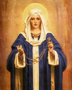 Always liked this Blessed Mother image.
