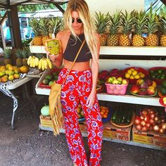 Hydration for the hangover. by the_salty_blonde Hawaii Outfits, Summer Vacation Outfits, Cute Summer Outfits, Cute Outfits, Vacation Style, Spring Outfits, Hawaii Style, Hawaii Hawaii, Looks Cool