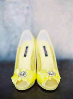 Yellow shoes make everybody happy.