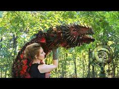 No Robotics Wood Splitter Lee Cross Original Dragon Puppet! - YouTube