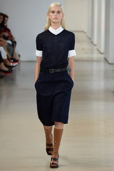 Jil Sander Spring 2015. See the collection on Vogue.com.