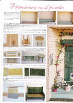La revista Miniaturas en el ejemplar 150 me ha publicado esta escsena con 6 tutoriales y encima ha salido en portada, muchas gracias Madel...