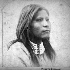 Paiute boy - circa 1870