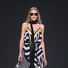 Lug Von Siga (Spring/Summer at Mercedes - Benz Zurich Fashion Days Mercedes Benz, Fashion Days, Stripes Fashion, Zurich, Spring Summer 2015, Dresses For Work, Journal, Journal Entries, Journals